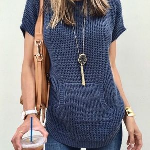 Vince Camuto waffle top